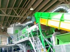RDF dozirni trasporter z razpihovalno naravo