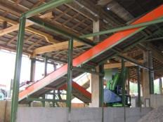 sisetem za pripravo goriv RDF, biomaso 2