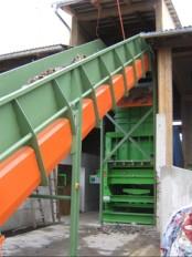 sisetem za pripravo goriv RDF, biomaso 6