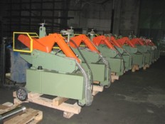razrez kovinskih palicnih odpadnih profilov  TIP A400