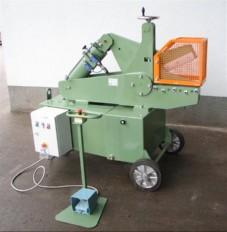 razrez kovinskih palicnih odpadnih profilov  TIP A400 3