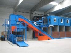 sortirna linija za sortiranje komunalnih odpadkov 1