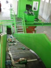 sortirna linija za sortiranje komunalnih odpadkov KRK