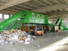sortirna linija za sortiranje komunalnih odpadkov KRK 3
