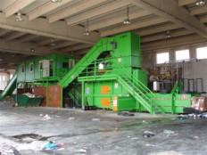 sortirna linija za sortiranje komunalnih odpadkov KRK 6