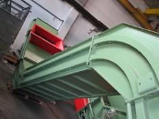 posnemalni transporter za sipki material